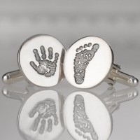 Cufflinks For Men Single Print