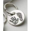 Personalised Print Key Ring