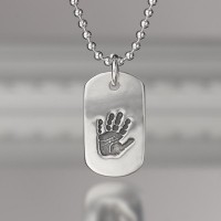 Personalised Prints Dog Tag