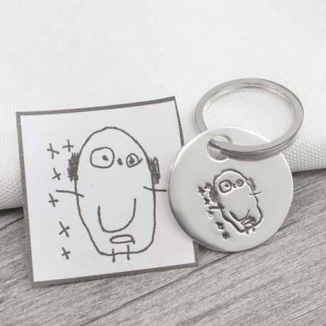 Drawing Key Ring
