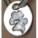 Paw Print Key Fob Only