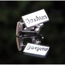Type Font Signature Cufflinks