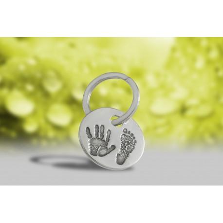Personalised Print Key Ring