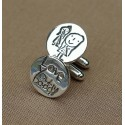 Personalised Drawing Cufflinks