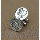 Cufflinks From Your Drawing